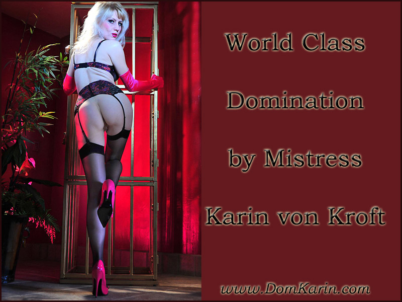 Arizona Tucson USA Dominatrix - Mistress Karin von Kroft