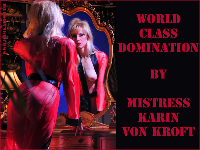 Arizona Tucson USA Experienced Dominatrix - Mistress Karin von Kroft