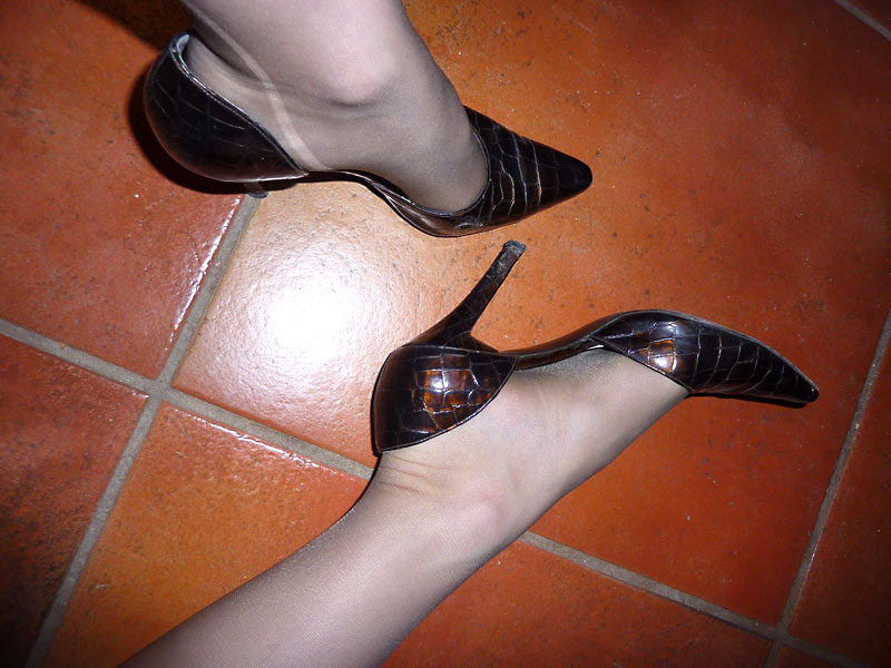 Mistress's worn shoes