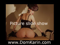 Mistress Karin von Kroft slideshow