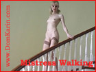 woman walking naked
