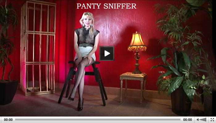 panty sniffer fetish leather